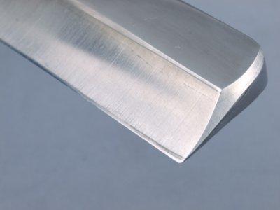 Photo1: [KANETAKA] Japanese Razor (Large, Blue Paper steel, 57mm edge)