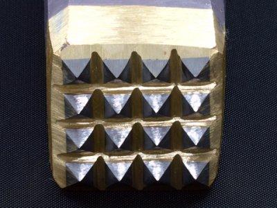 Photo1: [KONDO] Bishan, coarse finish hammer (16 Carbide bits)