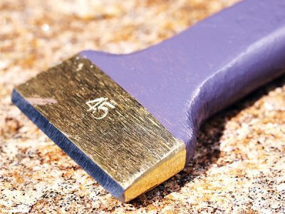 Photo3: [KONDO] Widely Chisel 45mm (24mm*16mm handle)