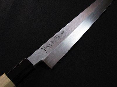 Photo1: [MINAMOTO-IZUMIMASA] Yanagiba hocho 300mm SAVIN stainless