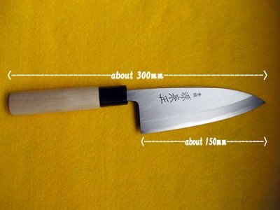 Photo2: [MINAMOTO-IZUMIMASA] Deba hocho 150mm For home use