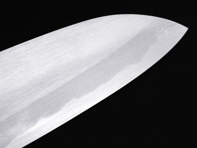 Photo3: [MINAMOTO-IZUMIMASA] Santoku hocho 180mm For home use