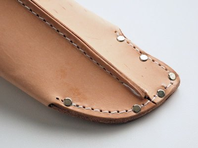 Photo3: [Tobisho] Leather holster for HIRYU, HIRYU alpha, ASUKA