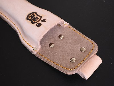 Photo3: [Tobisho] Leather holster for any type of One hand secateurs