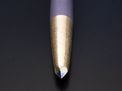 Photo1: [KONDO] Stone Angle picking Chisel (D=19mm Bits=5mm*5mm, roll)