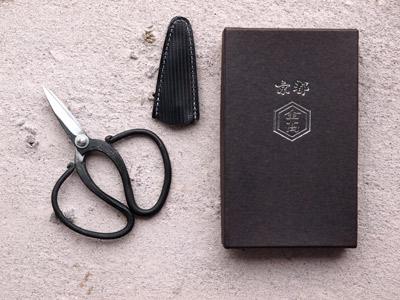 Photo1: [KANETAKA] Herb clip (Yasuki Yellow Paper steel, Black Finish) (1)