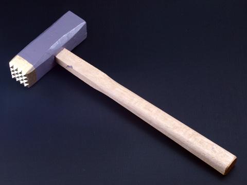 Photo1: [KONDO] Bishan, coarse finish hammer (16 Carbide bits) (1)