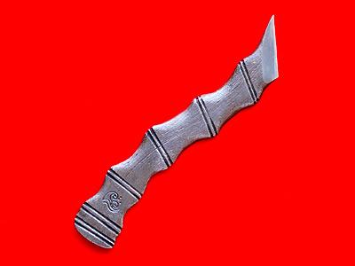 Photo1: [KANETAKA] Kiridashi (righthand, Blue Paper steel, chain, lamination) (1)