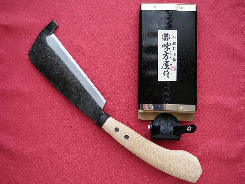 Photo1: Hatchet (Shitada type) with Top hook (1)