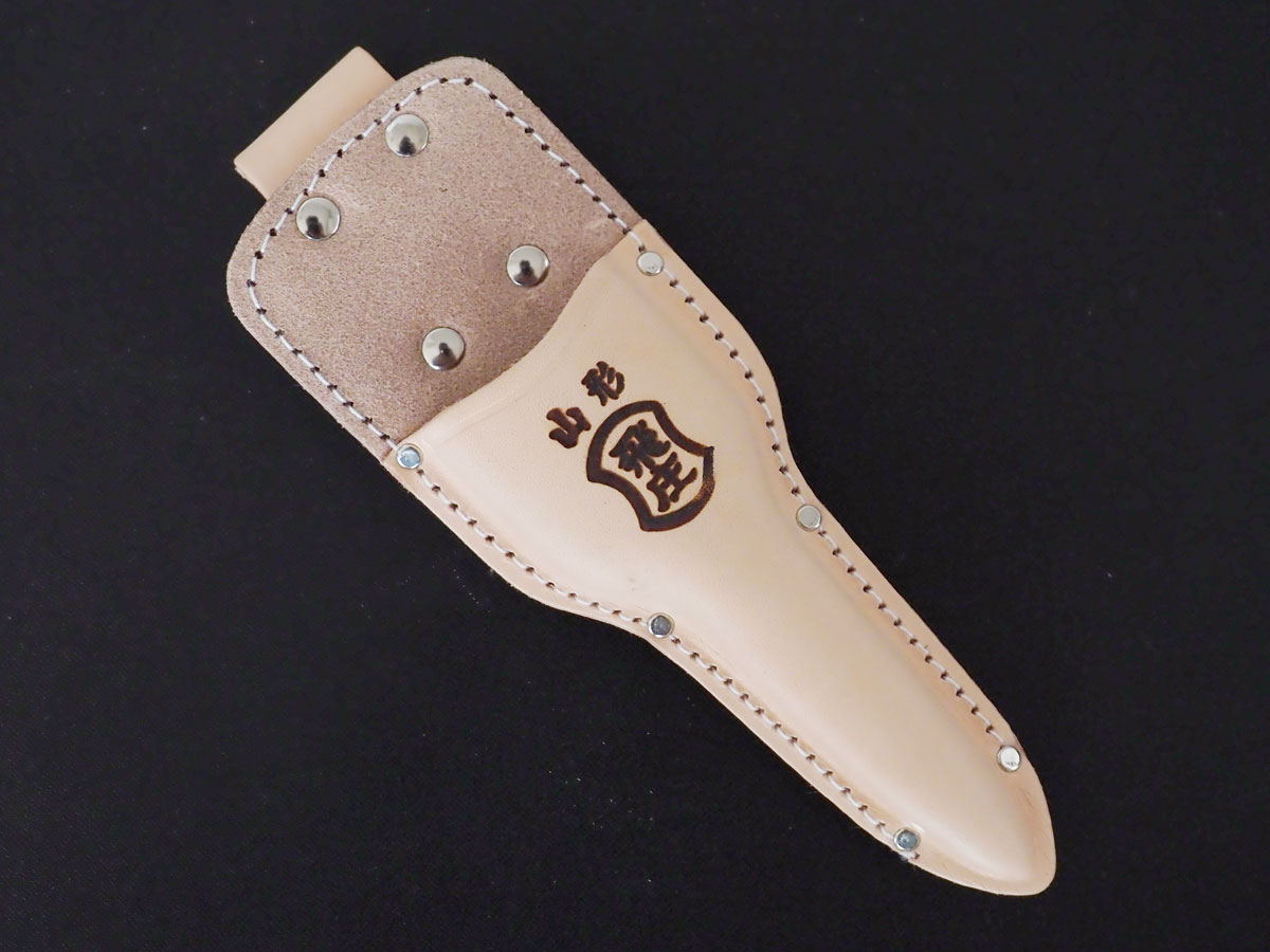 Photo1: [Tobisho] Leather holster for Cutting buds pruner and Snipping pruner (1)